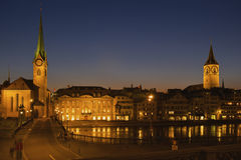 Zurigo, Svizzera Fotografia Stock