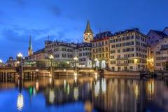 Zurigo, Svizzera Fotografia Stock Libera da Diritti