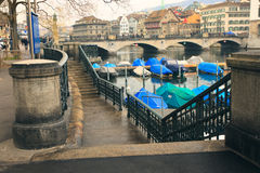 Zurigo, Svizzera immagini stock