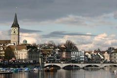 Zurigo town Royalty Free Stock Image