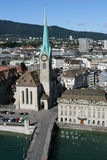 Zurique Fotografia de Stock Royalty Free