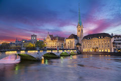 Zurique. Fotografia de Stock Royalty Free