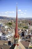 Zurique acima de 2 Fotos de Stock Royalty Free