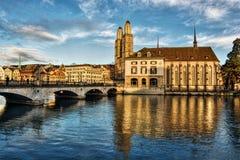 Zurique HDR Fotografia de Stock Royalty Free