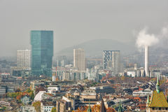Zurique HDR Fotos de Stock Royalty Free