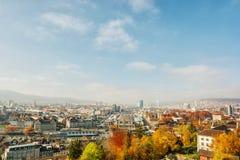 Zurique HDR Imagem de Stock Royalty Free