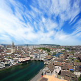 Zurique Switzerland Fotos de Stock Royalty Free