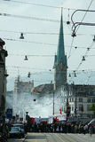 Zurique, Switzerland - maio 1 Foto de Stock