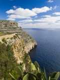 Zurrieq Cliffs Royalty Free Stock Photos