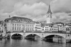 Zurychu szwajcarii Zdjęcie Royalty Free