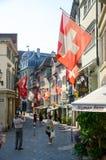 Zurychu szwajcarii Obraz Royalty Free