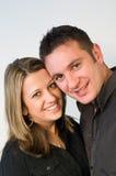 Zusammen in der Liebe Stockbild