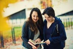 Zusammen lesen lizenzfreie stockfotografie