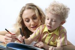 Zusammen lesen Lizenzfreie Stockbilder