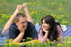 Zusammen stillstehen Lizenzfreies Stockfoto