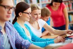 Zusammen studieren Lizenzfreie Stockbilder