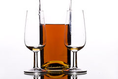 Zusammen trinken lizenzfreie stockbilder