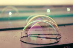Zusammen wenige Blasen auf dem Dach Lizenzfreies Stockfoto
