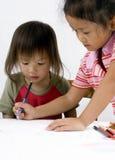Zusammen zeichnen Lizenzfreies Stockfoto