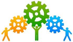 Zusammenarbeit Stockfoto