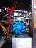 Zusammenbauende Computer Stockbild