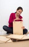 Zusammenbauende Möbel Stockbild