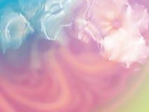 Zusammenfassung bunt vom Strudel und von der Bewegung des Acrylmischens für backgr Stockbild
