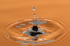 Zusammenfassung des fallenden Wassers Stockbilder