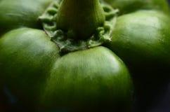 Zusammenfassung des grünen Paprikas Lizenzfreie Stockfotografie