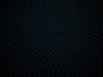 Zusammenfassung des Hexagons und des Technologiehintergrundes vektor abbildung