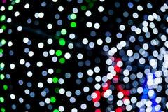Zusammenfassung des mehrfarbigen Kreis-bokeh Lizenzfreie Stockbilder