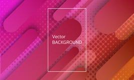 Zusammenfassung, die geometrischen Elementhintergrund schwimmt vektor abbildung