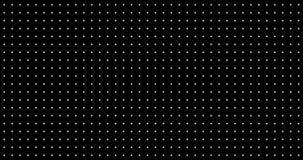 Zusammenfassung dynamisch mit weißen Punkten und Kreuzen auf Alphakanal des transparenten Hintergrundes stock abbildung
