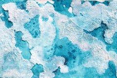 Zusammenfassung farbiger Hintergrund in den kühlen Farben Stockbild