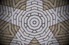 Zusammenfassung formt Ziegelsteinmuster Stockbild