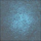 Zusammenfassung gefärbt ringsum Punkthintergrund stock abbildung