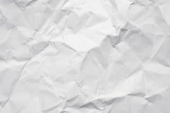 Zusammenfassung geknitterte Seite des Papiers als Detail Stockfotografie