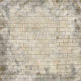Zusammenfassung gemalte Backsteinmauer für Design Hintergrund für Darstellung lizenzfreie abbildung