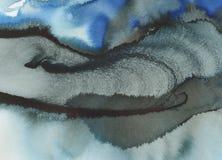 Zusammenfassung gemalter Papierhintergrund Lizenzfreies Stockbild