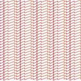 Zusammenfassung gezeichnete rote Linien Muster Lizenzfreie Stockfotografie
