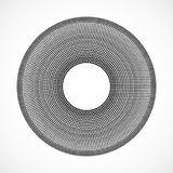 Zusammenfassung punktierte Kreise Punkte in der Kreisform vektor abbildung