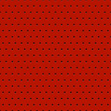 Zusammenfassung punktierter roter Metallhintergrund Stockfoto
