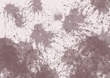 Zusammenfassung schöne braune KLECKS-Stellen auf beige Hintergrund stock abbildung