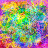 Zusammenfassung spritzt digitale Malerei Stock Abbildung
