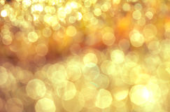 Zusammenfassung unscharfer bokeh natürlicher Beleuchtungshintergrund Lizenzfreie Stockfotografie