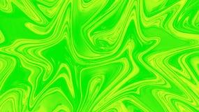 Zusammenfassung verschüttete Farbe Stock Abbildung