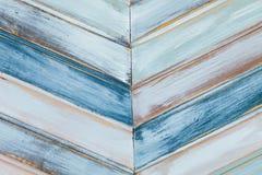 Zusammenfassung von farbigen Holzverkleidungen Lizenzfreie Stockfotografie