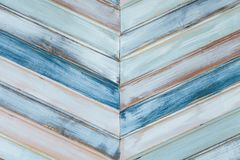 Zusammenfassung von farbigen Holzverkleidungen Lizenzfreies Stockfoto