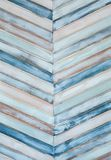 Zusammenfassung von farbigen Holzverkleidungen Lizenzfreie Stockfotos