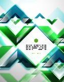 Zusammenfassung zeichnet geometrischen Hintergrund Stockfotografie